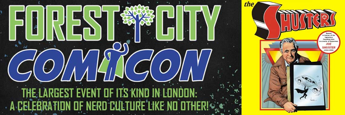 Forest City Comicon and Shuster Awards